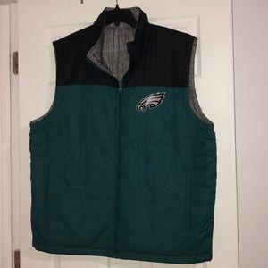 🦅🏈 Philadelphia Eagles XL Reversible Vest 🏈🦅
